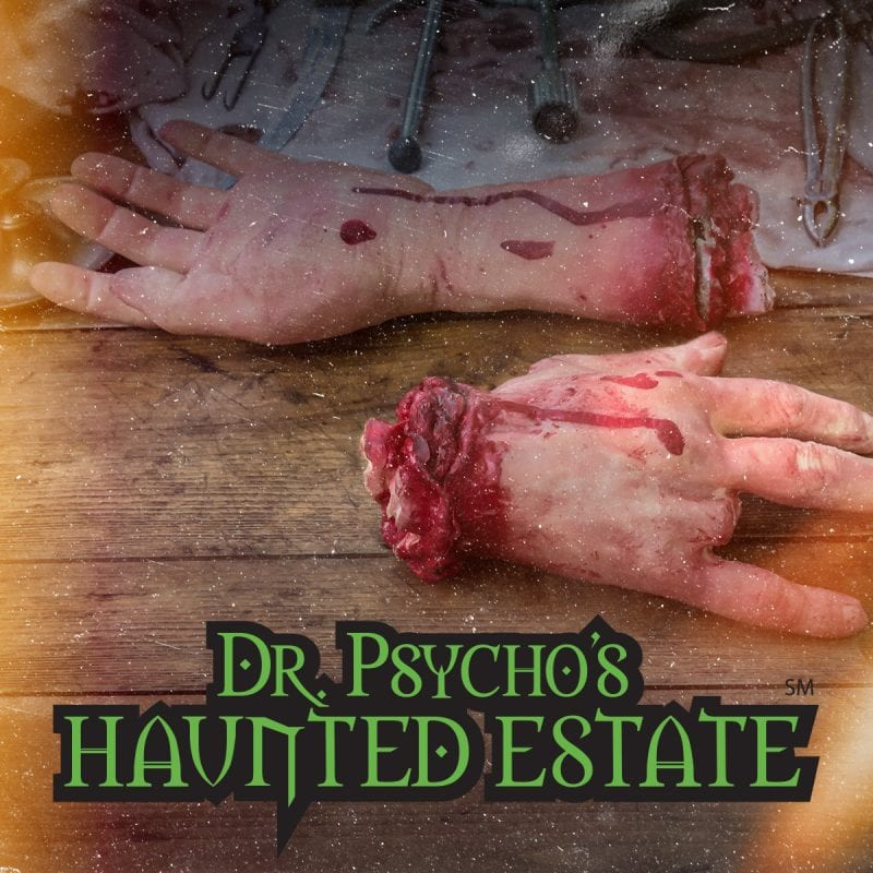 Dr. Psycho's Haunted Estate