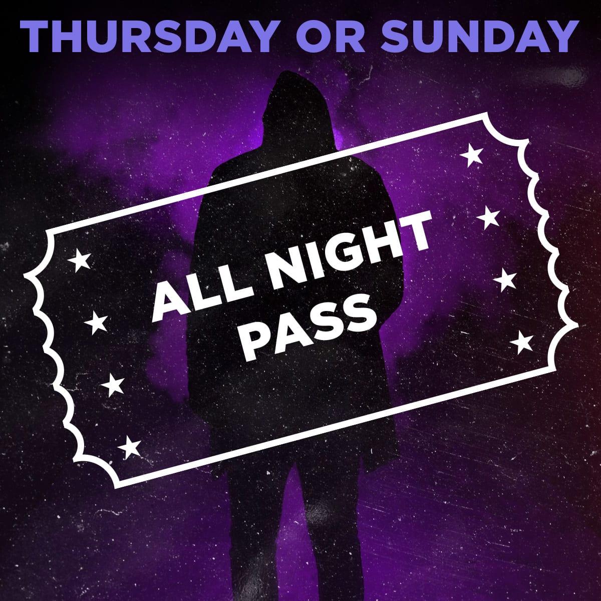 Scream Park All Night Pass