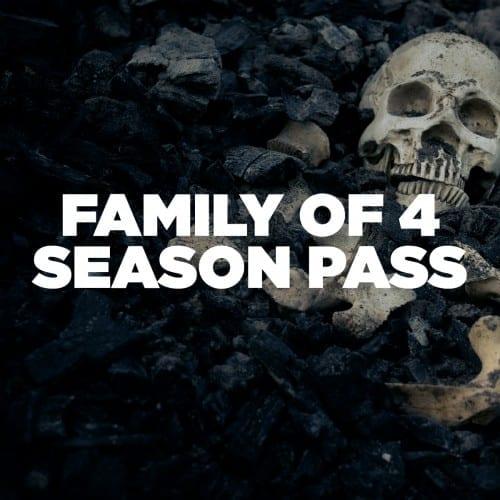 Haunt Family of 4 Season Pass